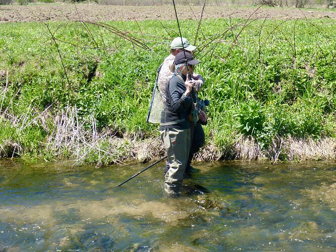 Mary Fishing