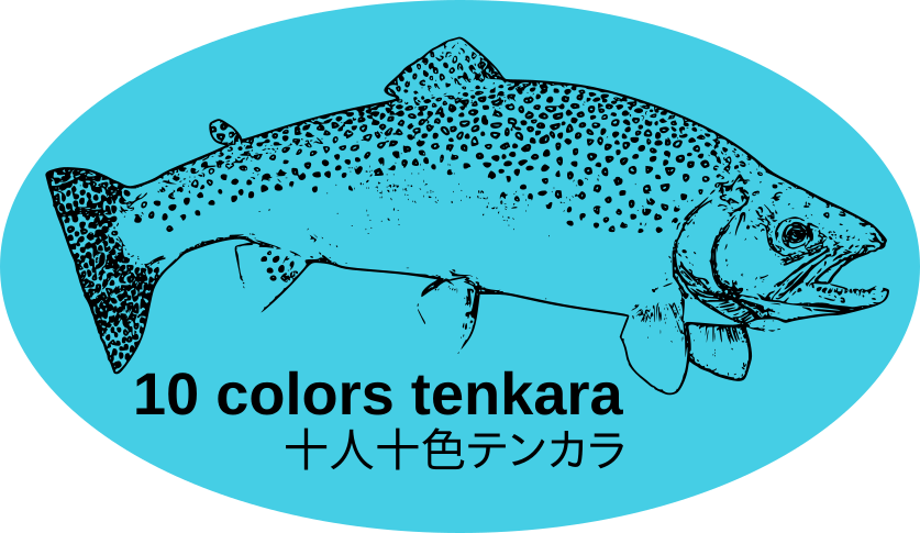 10 Colors Tenkara